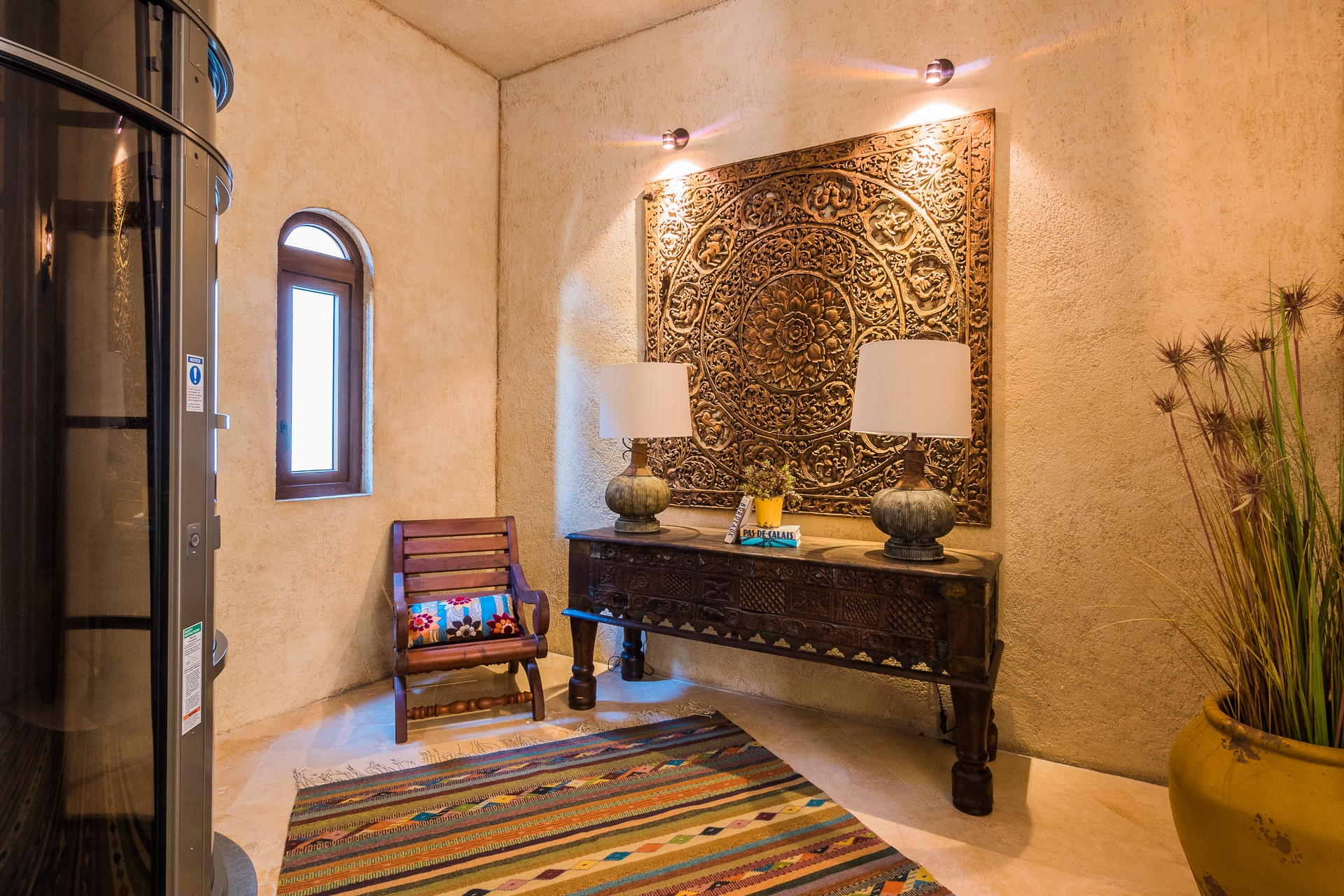 Pedregal villa deseo cabo construction hundreds of thousands of dollars in granite and stone work along with the most detailed tile and marble work set villa deseo above all others dailygadgetfo Choice Image